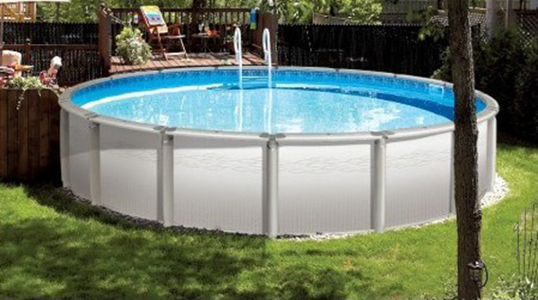 Piscine hors sol neo pool spa for Piscine tole hors sol