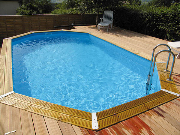 piscines en bois neo pool spa. Black Bedroom Furniture Sets. Home Design Ideas
